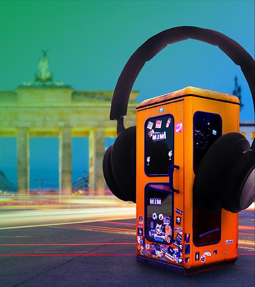 Berlin  Techno Booth